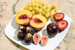 Frutti per alimento sano Immagini Stock Libere da Diritti
