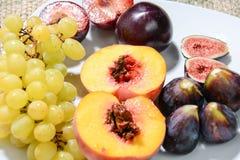 Frutti per alimento sano Fotografia Stock Libera da Diritti