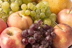 Frutti riped freschi Immagini Stock Libere da Diritti