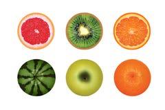 Frutti rotondi Fotografia Stock Libera da Diritti