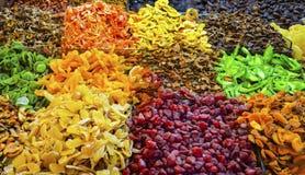 Frutti secchi da vendere Fotografie Stock