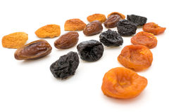 Frutti secchi, mele, prugne, albicocche, fichi Immagine Stock Libera da Diritti