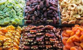 Frutti secchi turco come caramella Immagini Stock Libere da Diritti