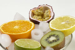 Frutti sulla roccia Immagini Stock Libere da Diritti
