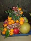 Fruttifica frutti deliziosi e sani della dolcezza immagini stock libere da diritti