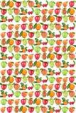 Fruttifica la ciliegia arancio delle arance delle mele della frutta della mela del fondo Fotografia Stock