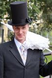 förvånad brudgum Royaltyfri Fotografi