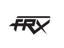 FRX concept logo design. AI 10 Supported Stock Images