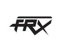 FRX concept logo design Stock Images