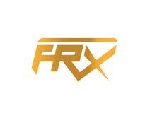 FRX concept logo design. AI 10 Supported Stock Photo