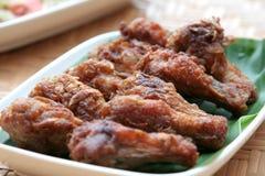 fry цыпленка Стоковые Фото