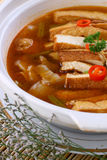 Fry asian food-tofu Stock Photos
