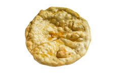 Fry Bread. Isolated fry bread on white background Royalty Free Stock Images