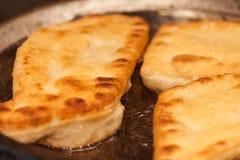 Fry buns Stock Photo