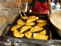 Fry Cooking Latin Food Stock Images