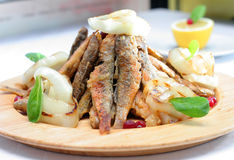 Fry fish Royalty Free Stock Image