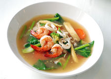 Fry noodle in gravy Royalty Free Stock Images