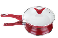 Fry pan with ceramic non-stick coating Stock Photo