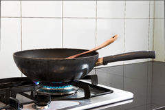 Fry pan Royalty Free Stock Image