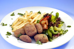 Fry rissole Royalty Free Stock Image