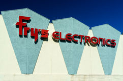Fry's Electronics Store Exterior Royalty Free Stock Photography