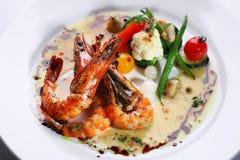 Fry shrimp Royalty Free Stock Photo