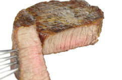 Fry steak Royalty Free Stock Photos