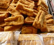 Fry tofu Stock Images