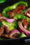 fry wok 4.4 Obraz Stock