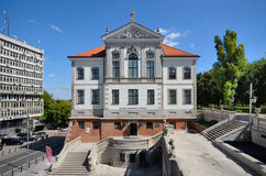 Fryderyk Chopin Museum (Ostrogski Castle) in Warsaw (Poland). Built in the second half of the seventeenth century later rebuilt several times. Since 1854 belongs Royalty Free Stock Image