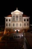 Fryderyk Chopin Museum (Ostrogski-Kasteel) in Warshau (Polen) Stock Foto