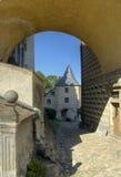 Frydlant - castillo en el norte de la República Checa Fotografía de archivo libre de regalías
