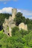 Frydstejn castle in Bohemia Royalty Free Stock Photography