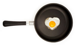 Fryed egg Royalty Free Stock Photo