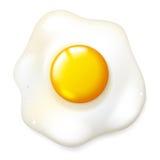 Fryed egg Stock Photography