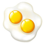 Fryed eggs Royalty Free Stock Image