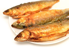 Fryed fish Royalty Free Stock Photos