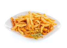 Fryed poato chips Stock Image