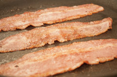 Frying Bacon Stock Photography