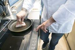 Frying Stock Image