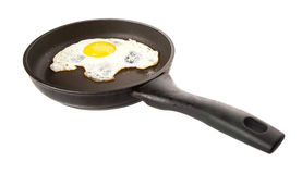 Frying An Egg I Stock Images