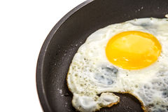 Frying An Egg IV Royalty Free Stock Images