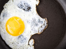 Frying An Egg VI Stock Photo