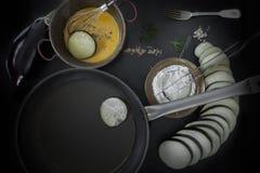 Frying Eggplant Stock Photos