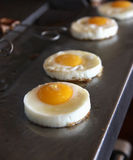 Frying Eggs Stock Photography