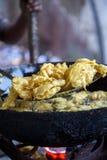 Frying food in Mumbai Stock Photos