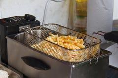 Frying Machine Royalty Free Stock Photo