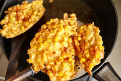 Frying ote-ote Stock Images