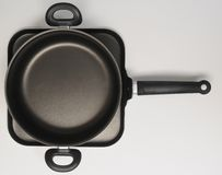 Frying pan. Stock Images