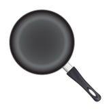 Frying pan. Royalty Free Stock Image